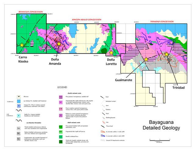 Bayaguana Detailed Geology
