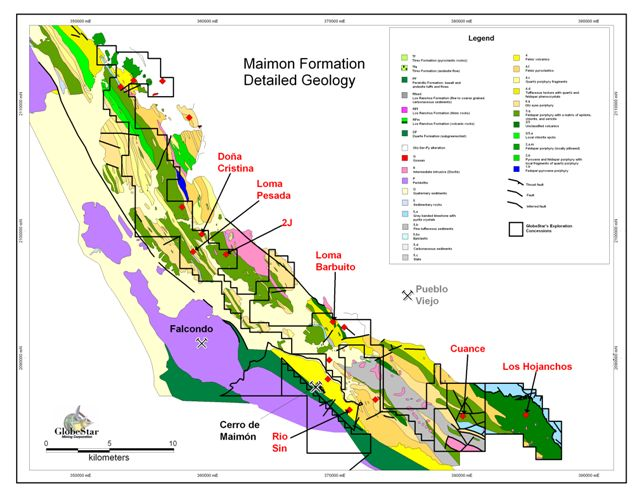 Maimón Formation Detailed Geology