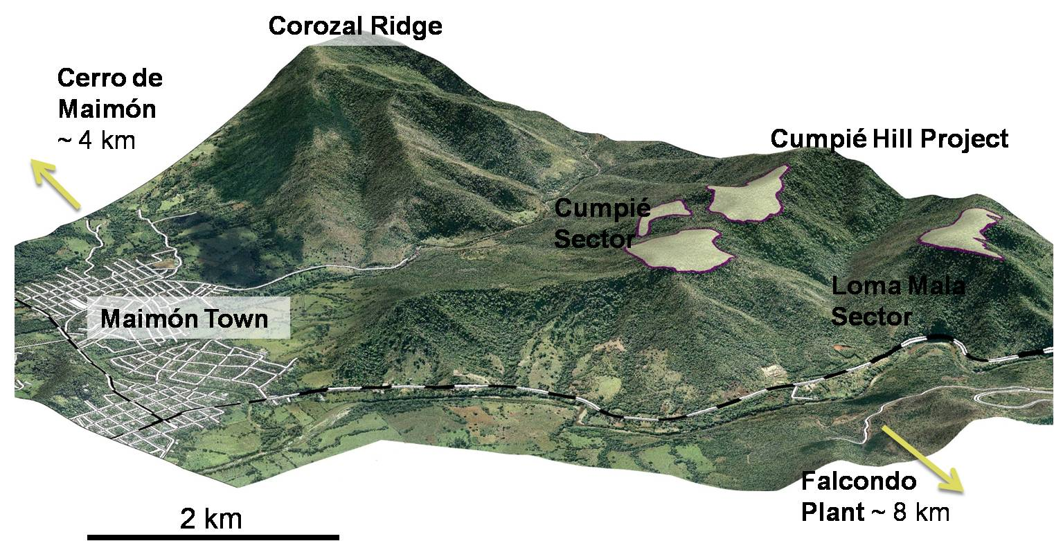 Cumpié Hill Project Location